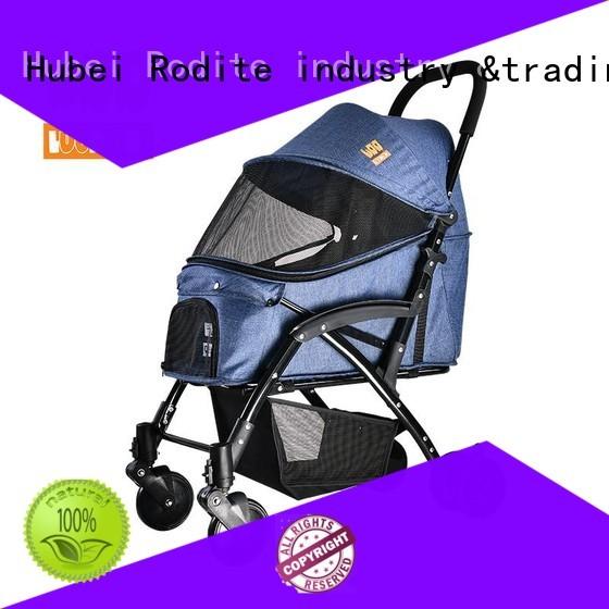 Rodite pet gear dog stroller low price for medium dogs