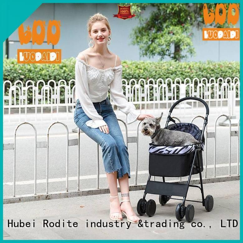 Rodite foldable best dog stroller low price for travel