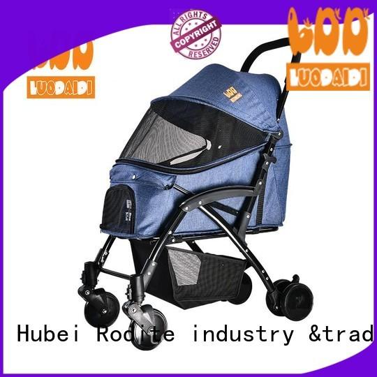Rodite double pet stroller wholesale for travel