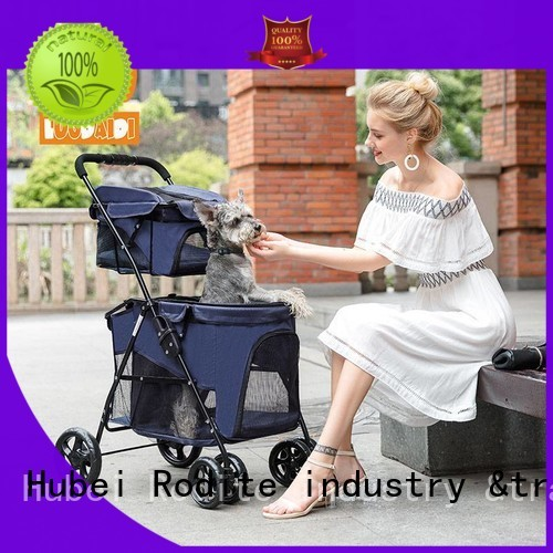 stainless pet strollers for dogs wholesale for small dogs