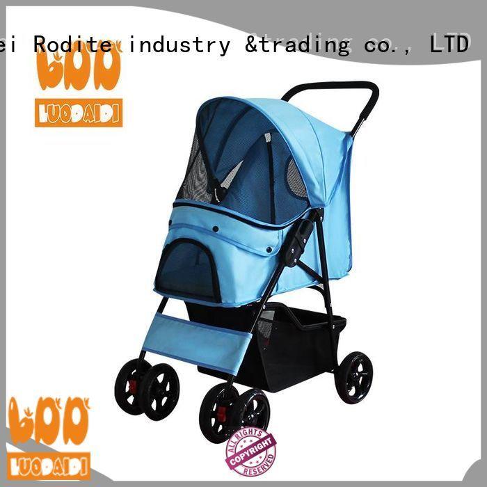 Rodite folding pet gear pet stroller supplier for pets