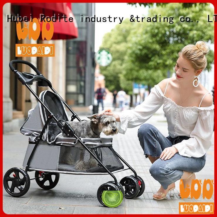 Rodite heavy duty pet gear stroller low price for pets