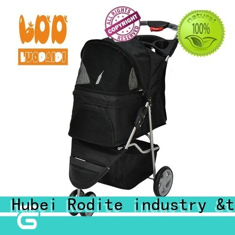 customized 4 wheels trolley supplier for small dogs