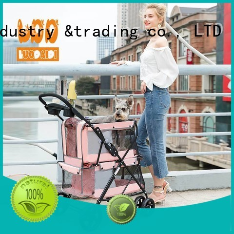 lightweight double pet stroller wholesale for travel