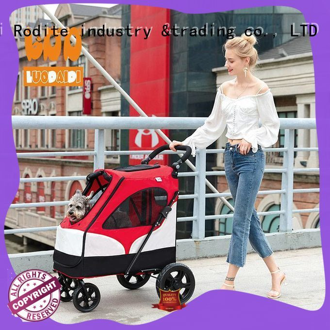 heavy duty pet strollers for dogs manufacturer for travel