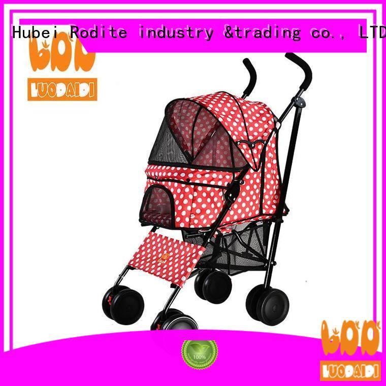 Rodite foldable best dog stroller wholesale for shopping