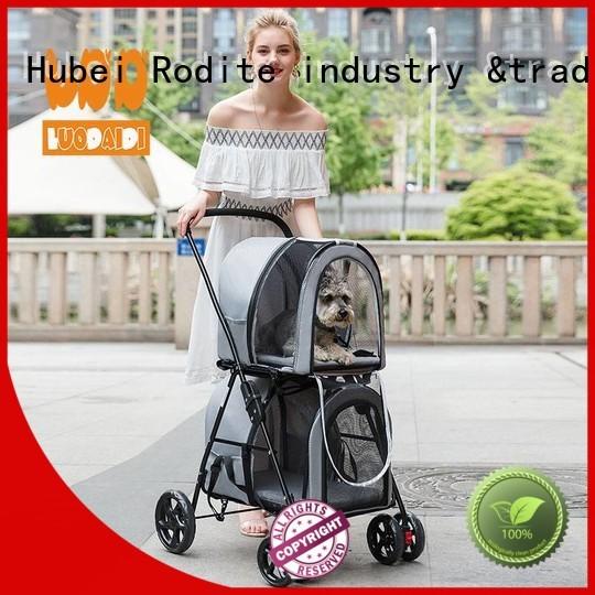 Rodite pet gear dog stroller supplier for large dogs
